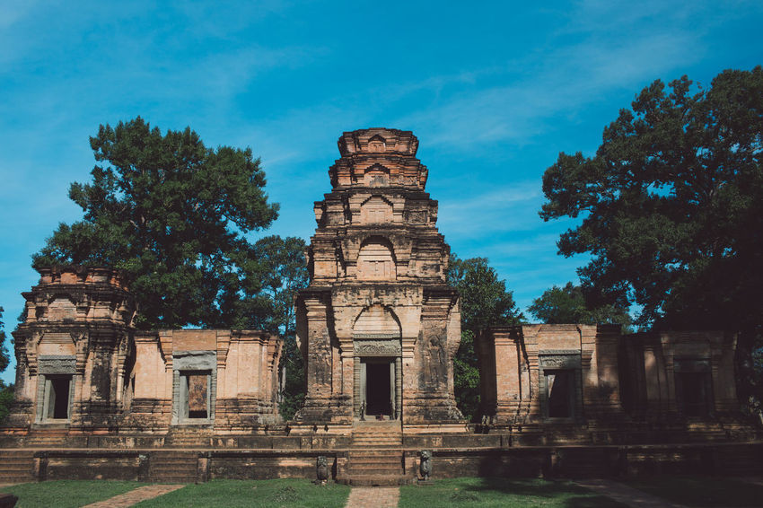 Siem Reap Cambodia Angkor Architecture History Built Structure The Past Building Exterior Ancient Place Of Worship Sky Old Ruin Tree Religion Travel Destinations Belief Tourism Plant Building Nature Travel Old Ancient Civilization No People Archaeology Outdoors Ruined