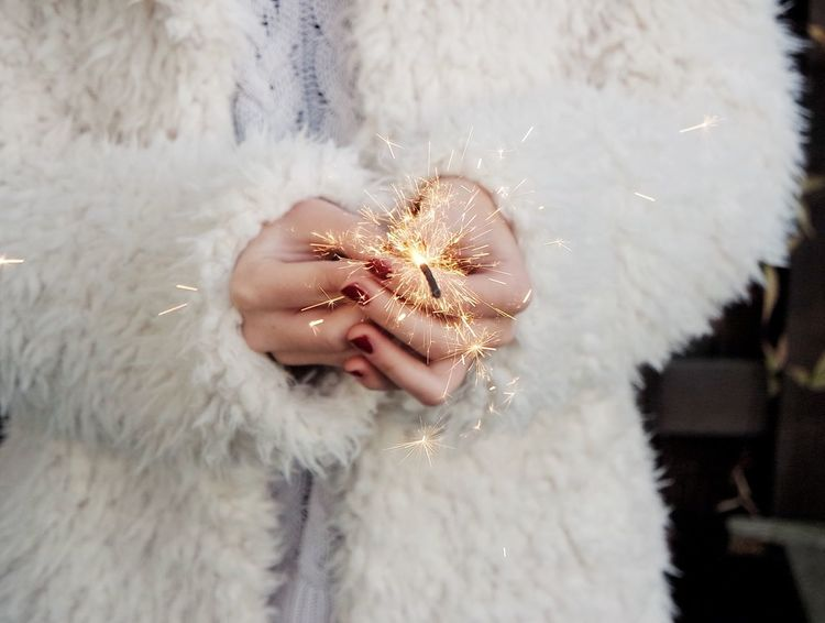 Hands Fireworks Lights Sparkles Sparkler Celebrating Celebrate Winter Season Sparklers New Year 2016 Celebration New Years 2016 Is Coming Red Nails :) Fresh On Eyeem  43 Golden Moments