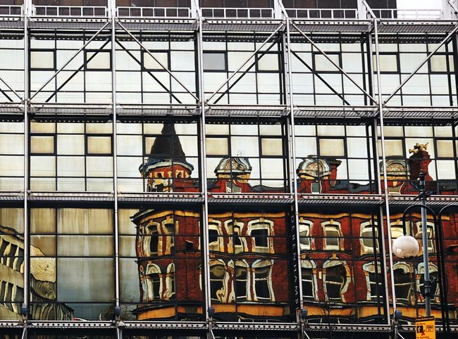 Geometric Architecture Geometric Shape United Kingdom Old Buildings Windows Reflection Visual Creativity Cityscape City Architecture No People Built Structure Day Building Metal Building Exterior Backgrounds