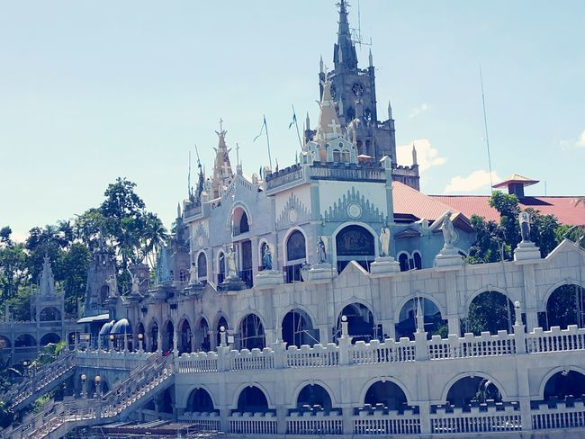Shrine of Miraculous Mary of Lindogon.. Shrine Simala,philippines Mamamary Pray First Eyeem Photo