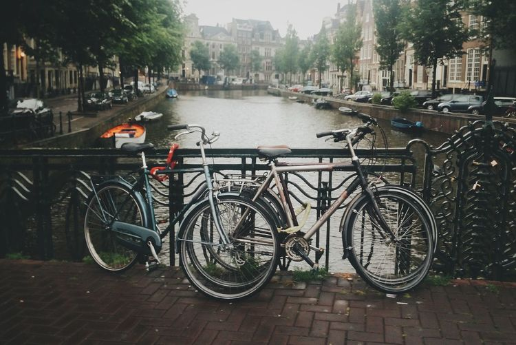 Amsterdam Amsterdamcity Amsterdamcanal Holland The Netherlands Netherlands2014 Bike Bicycle