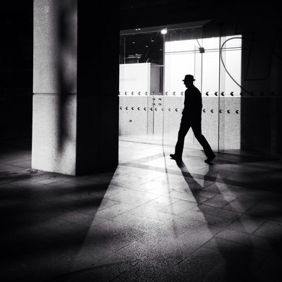 Darkness And Light Streetphoto_bw NEM Black&white Street NEM Street Streetphotography Strangers In Transit TheMinimals (less Edit Juxt Photography) Light And Shadow Silhouette