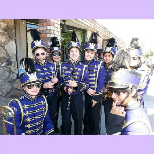 I love what I do and the people I do it with. WillowsHonkerBand WHS Purpleandgold Bandnerd  ProudOfIt LambDerby nf