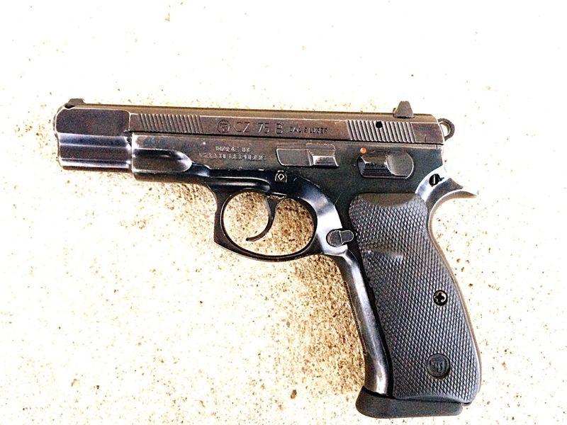 CZ75 Handgun Jince Artillery Job Gun Handgun Brdy Cz75 Power Black Kill Killer 9mm Like February Easy