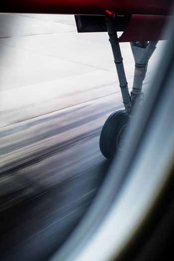 Landing Touchdown Travel Travelling Wheel Aircraft Aircraft Wheel Blurred Motion Motion Plane Landing Speed Transportation