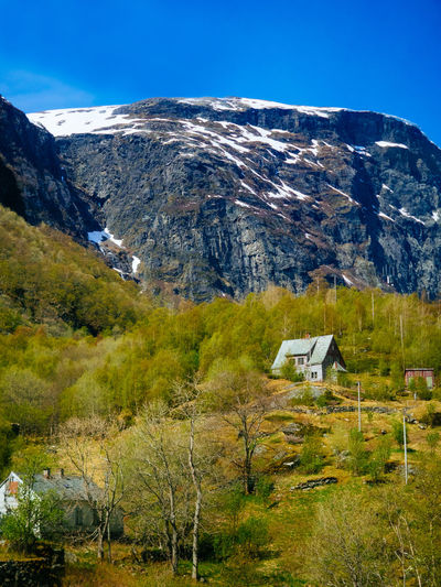 Architecture Beauty In Nature Building Exterior Built Structure Day Landscape Mountain Mountain Range Nature No People Norway Outdoors Scandinavia Scenics Sky Travel Destinations