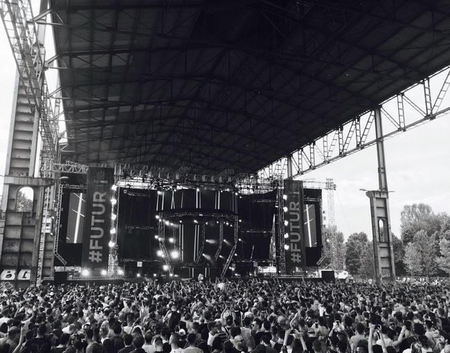The future is our Large Group Of People Music Music Festival Kappa Futurfestival The Future EyeEm Best Shots Eye Em Around The World Eye4photography  EyeEm Gallery Crowd Parco Dora Torino Torino Movement Blackandwhite Photography Blackandwhite Black & White EyeEm Masterclass