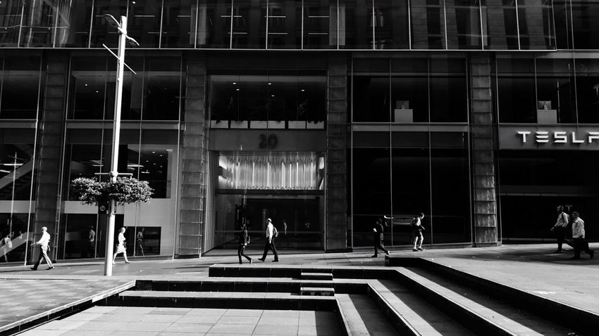 Black And White Everybodystreet   Daily Commute Sydney Morning Photo