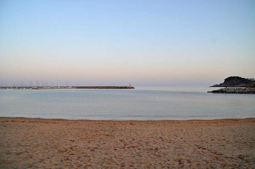 Every breaking wave - U2 Sea Sunset Calm Autumn Beach Beautiful Catalunya Costabrava Santfeliudeguixols