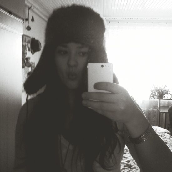 Russian Fur Winter Is Coming Black & White