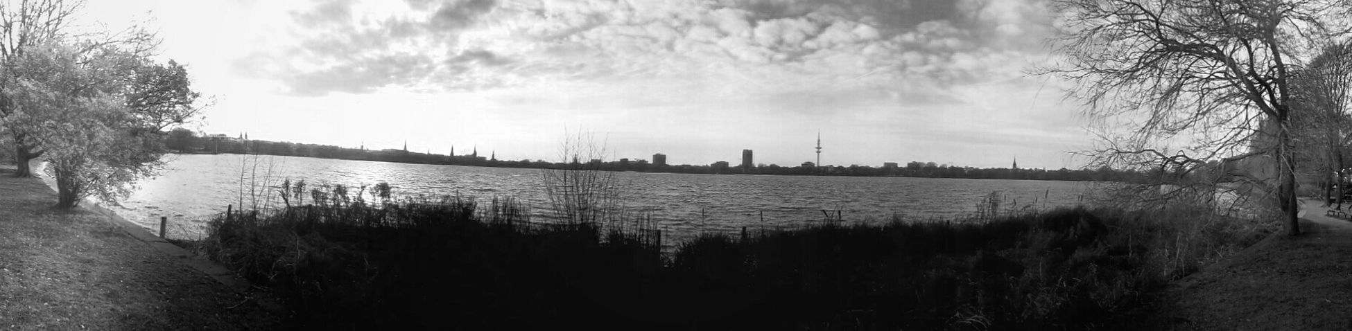 Alster this morning! Taking Pictures Hello World Light And Shadow Panorama