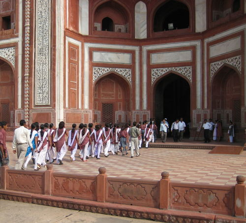 Agra Architecture Building Exterior Color Matching Culture Darwaza-i Rauza Entrance Façade Famous Place Great Gate India Matching Outfits Monument Mughalarchitecture Ornate School Uniforms Around The World Spirituality Taj Mahal Tomb Travel Photography