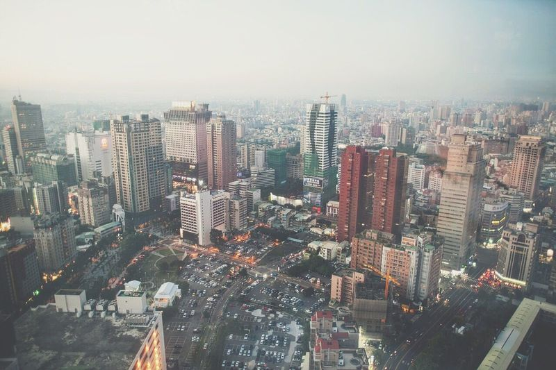 Battle Of The Cities City EyeEm Taiwan Eyeemmarket The View And The Spirit Of Taiwan 台灣景 台灣情 Clear Sky Cityscape City Life Sky Outdoors High Angle View