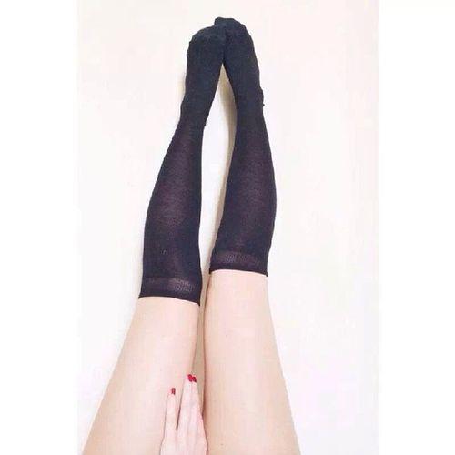 Tumblr Calze Rosso Nero
