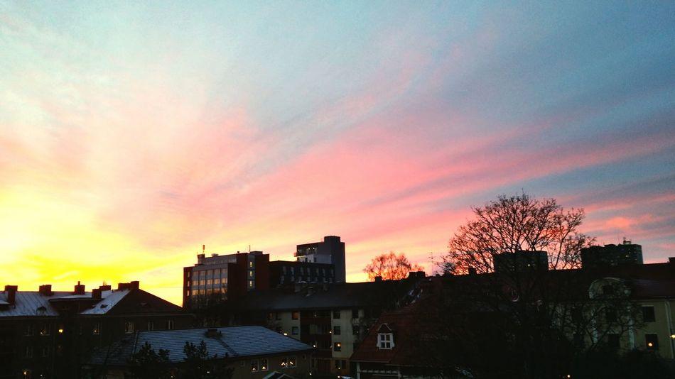 Sunset in Sweden :) Sweden Sunset