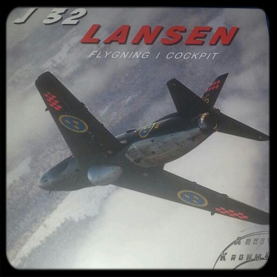 New BR-movie, picture from BR Aeropresentation.com J32Lansen Swedish Military Aircraft Airforce
