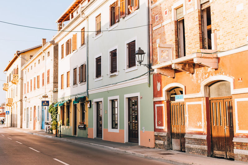 Building Exterior Architecture City Street Building Day No People Sunlight Row House Outdoors Piran/Pirano