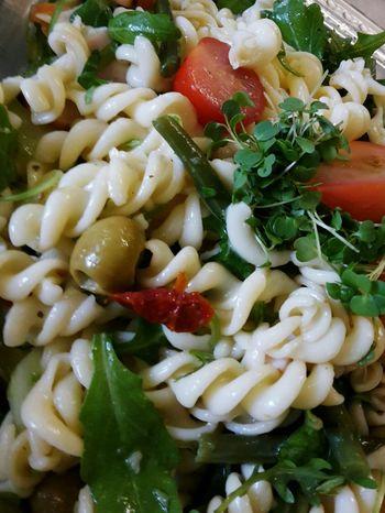 Italian Food Fusilli Pasta Salata Salad Helthyfood Foodporn