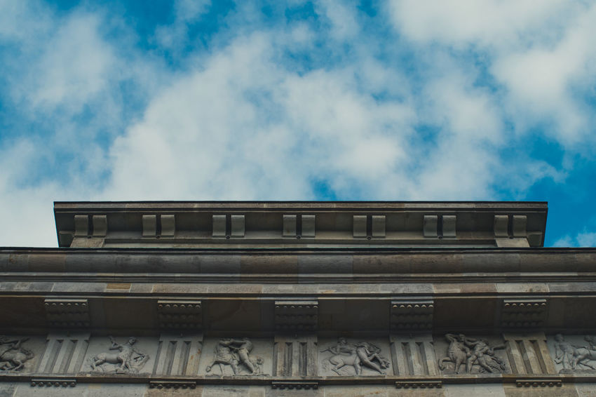 Architecture Low Angle View Built Structure Building Exterior Cloud - Sky No People Sky Day Outdoors Politics And Government