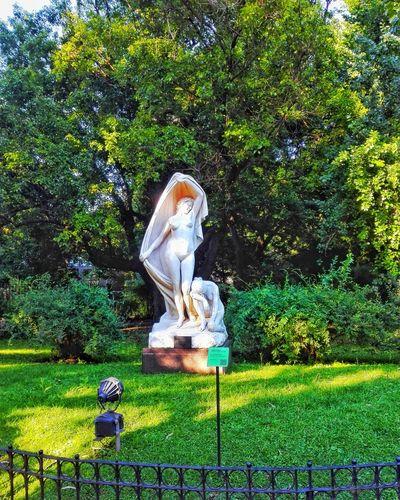 El despertar de la naturaleza Sculpture Grass Tree Green Color Nature Statue Outdoors Park Buenos Aires, Argentina  Carlosthays
