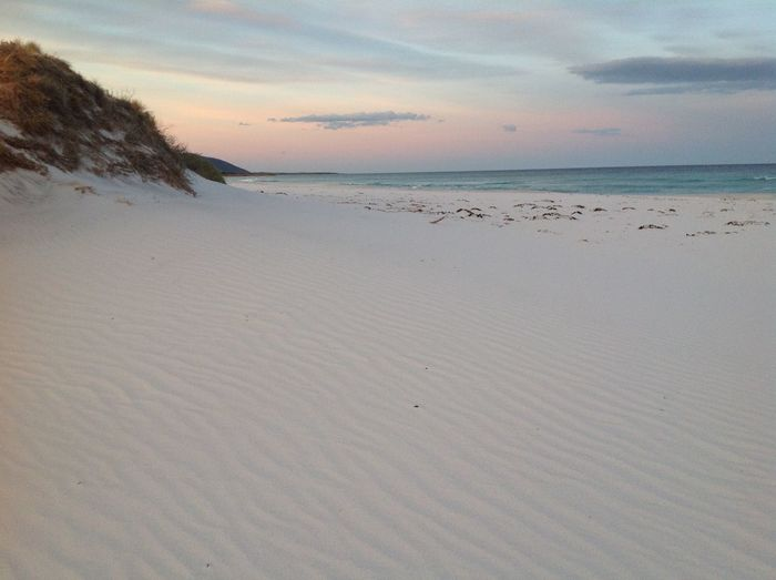 Beach Beauty In Nature Cloud - Sky Day Horizon Over Water Nature No People Outdoors Sand Scenics Sea Sky Sunset Tranquil Scene Tranquility Water Wave Friendly Beaches Tasmania EyeEmNewHere Landscapes Landscape_Collection Landscape_photography