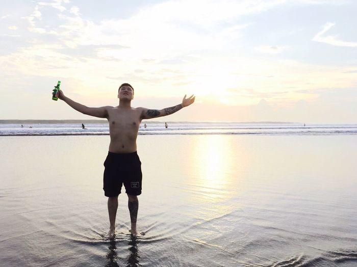 I am god! Bali Chinaboy Seminyak Beach Beach