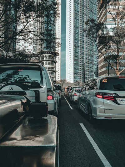 City streets City Road Land Vehicle Car Street City Street Architecture Sky Built Structure Traffic Jam