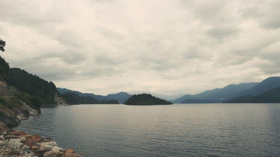 A lake like a