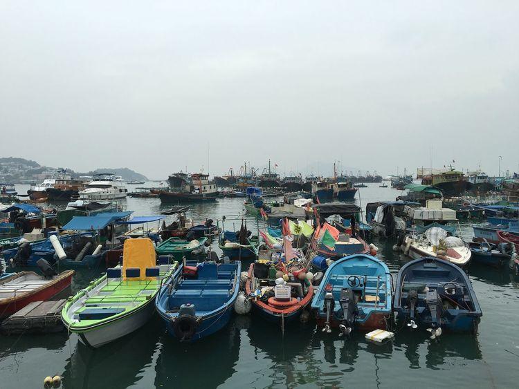 Boats Hong Kong Cheung Chau Pmg_hok
