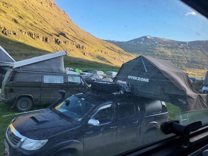 Good Morning View From The Window... Campsite Iceland216