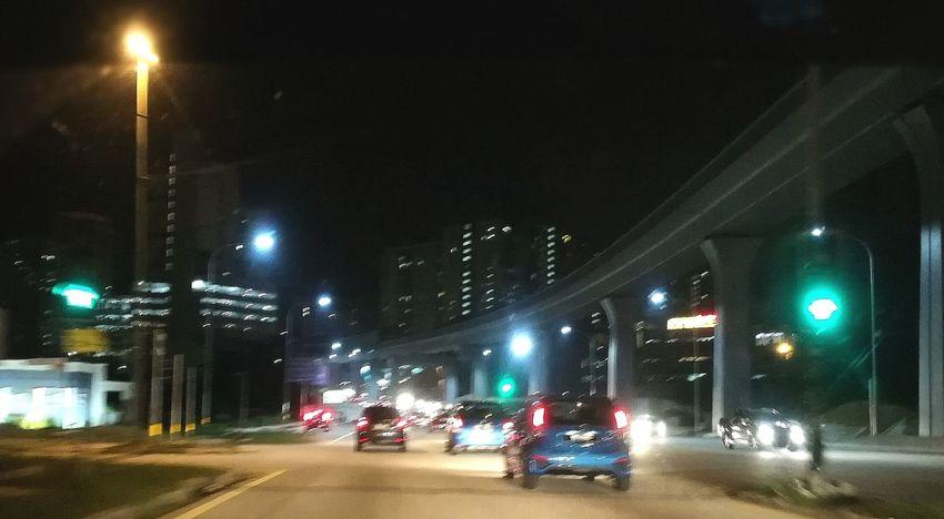 Night Illuminated Street Light Street City City Life Showcase November