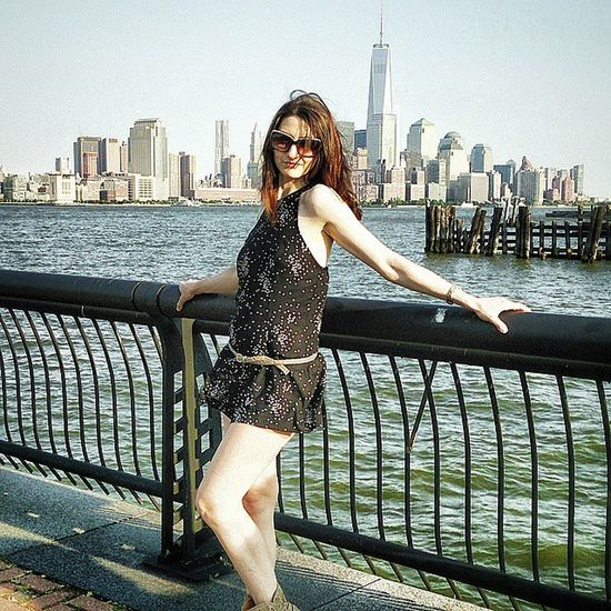 Manhattan Princess Princy Princess Manhattan Newyorkcity newyork ny nyc girl hottie pretty lovely cute cutie cutechick littledress legs beautiful beauty skyline skyscraper ocean awesome style fit fashion model