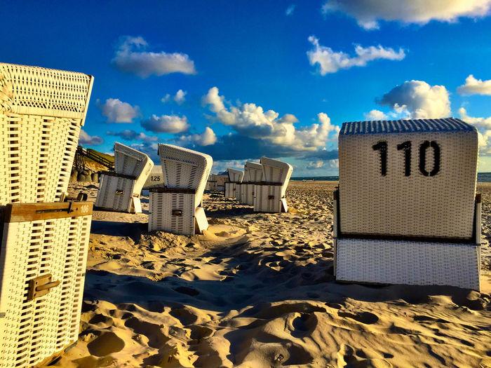 Sylt Strand st immer eine Reise wert. Relaxing beach