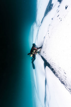 Baikal under Ice Adventure Baikal Blackandwhite Cold Dark Drysuit Ice RISK Russia SCUBA Scuba Diving Underwater White Winter Snow Sports Snow Sports The Great Outdoors - 2017 EyeEm Awards The Traveler - 2018 EyeEm Awards