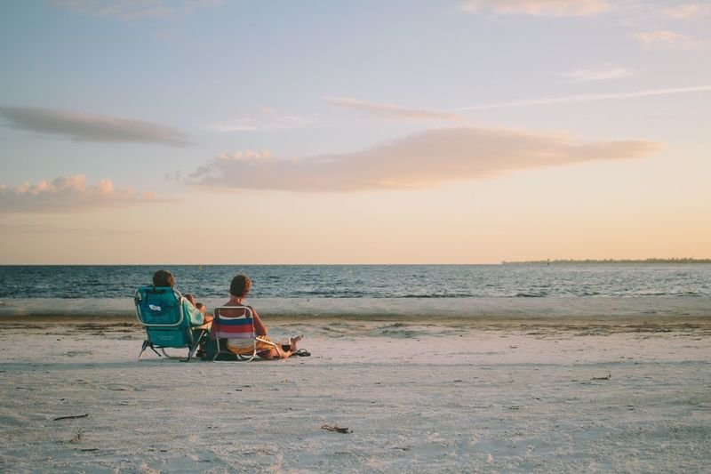 Beach Beach Photography Florida Retirement Fort Myers Couple Joy Relax Beach Time