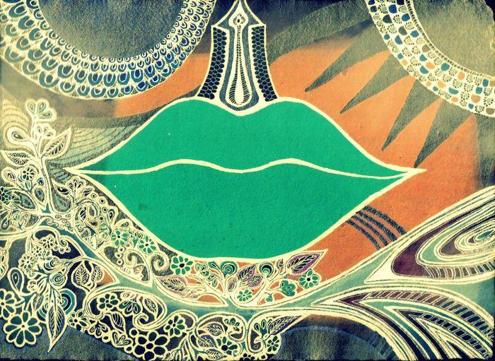 Abundance Art Cosmic Cosmic Life Culture Design Digital Art Hafiz Ink Kiss Lips Love Ornate Phycodelic Poetry In Pictures