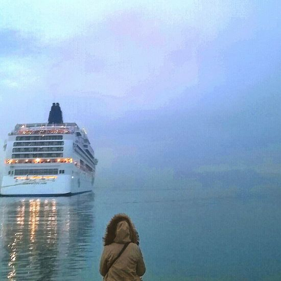 Kusadasi Sea And Sky Thoughts Dreams Cruising Hello World Taking Photos Check This Out Turkey That's Me