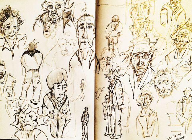 Watching the movie Nebraska. Art Sketch Art, Drawing, Creativity Drawingaday