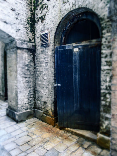 Blue Door City Street London Micro Four Thirds Architecture Building Exterior Built Structure Day No People Outdoors