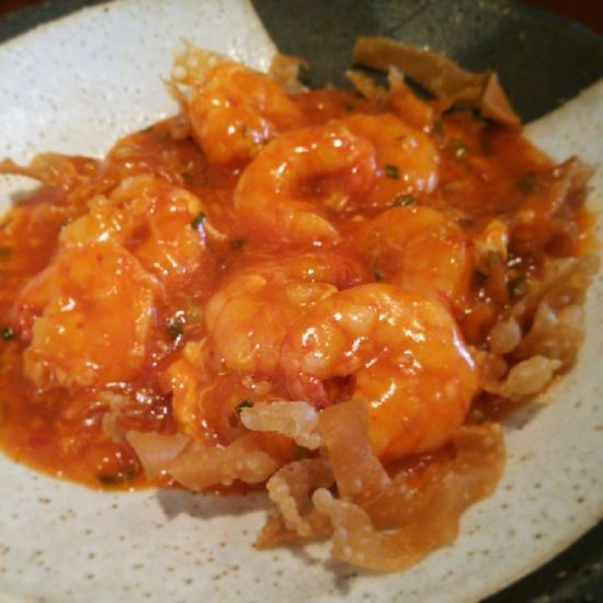 エビのチリソース煮込み Shrimp Chinesefood Nouvellechinois エビチリ 中華料理