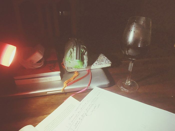 Wine, reading and writing Structuralism Levistrauss Tropicalismo Poststructuralism Paper Still Life