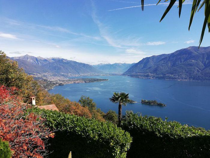 The Mobile Photographer - 2019 EyeEm Awards Water Mountain Tree Sea Blue Sky Landscape Tranquil Scene