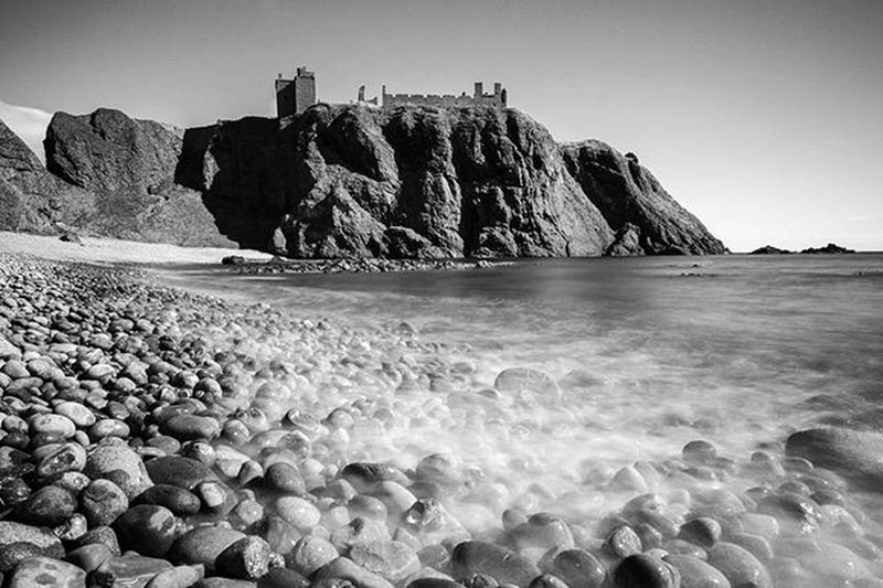 Untouched Beauty - The beautiful untouched beach of 'Hall Bay.' Liked the majestic feel and textures of this B&W conversion. Dunnottarcastle_official Dunnottar Dunnottarcastle Hallbay Untouched Beautiful Beach Pebbles Bay Blackandwhite Textures Calm Dreamy Dunnottar2016 Aberdeeninstameet Sunshine Longexposure Coastline Stonehaven Beautifulscotland Visitaberdeen Visitaberdeenshire VisitScotland Brilliantmoments The Great Outdoors - 2016 EyeEm Awards