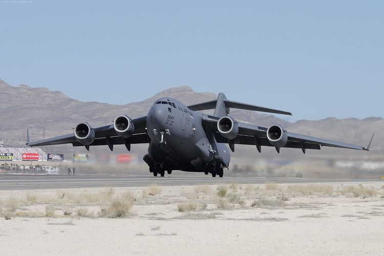 Air Force Air Vehicle Aircraft Airplane Airport Runway C-17 Cargo Day Fighter Plane Globemaster Military Military Airplane No People Outdoors Transportation US Air Force USAF