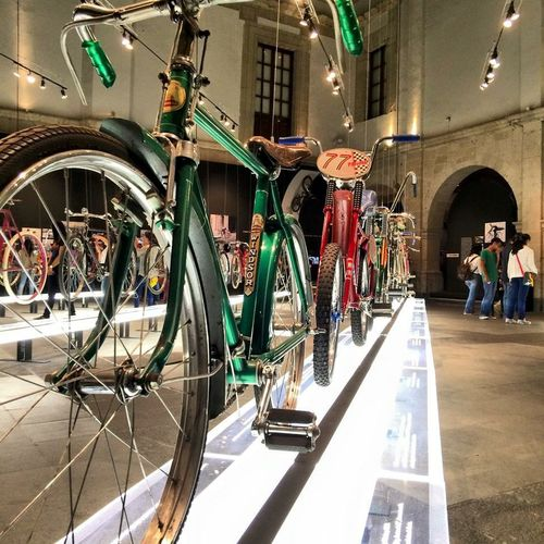 Mexico City Museum Bicycle