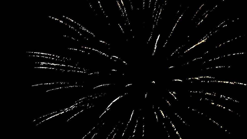 New Year 2017 Fireworks Explosion
