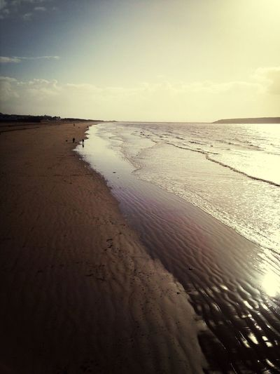 Lovely day out at Weston Super Mare Sunny Day Beach Photography