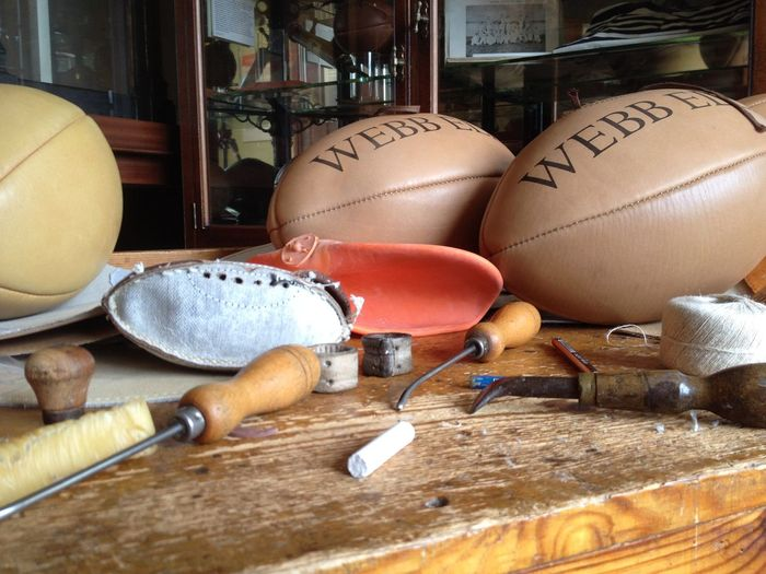 Ball England🇬🇧 Hand Crafted Rugby Rugby School Tools Traditional Webb Ellis