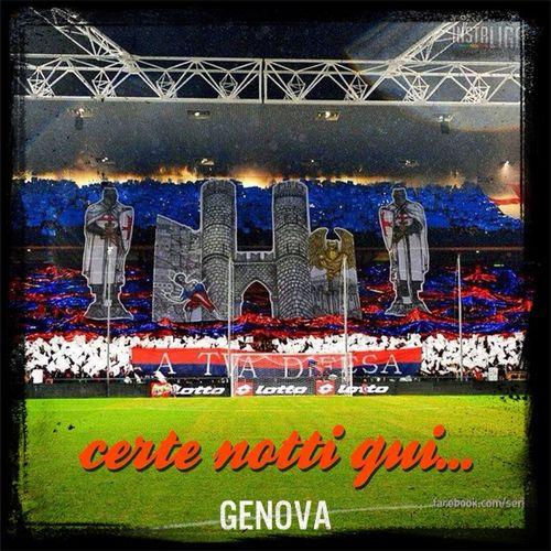 Gradinata nord GENOA Football Fans Calcioitaliano ForzaGenoa Serie A