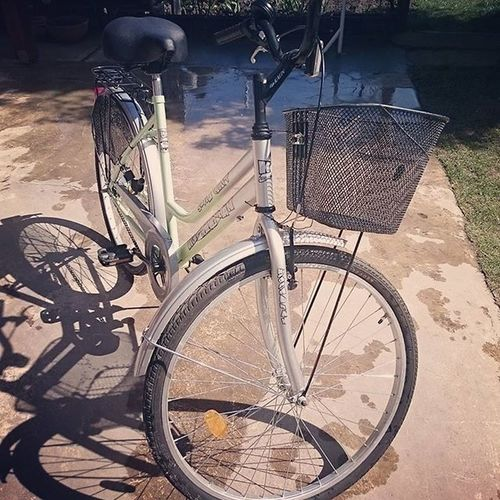 Now she's ready for the new season Clean Bike Bicycle Spring Mik Ikozosseg Ikozosseghungary Ig_hun Ig_hungary Notfancybutgood Goodlife